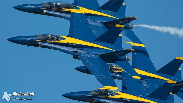 New Updates And Details On Blue Angels Super Hornet Transition