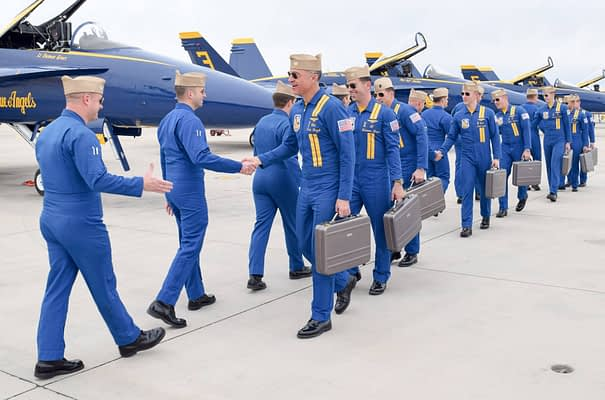 Blue Angels Return To El Centro For 2018 Winter Training Period