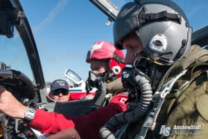 Flying with the Canadian Forces Snowbirds - AirshowStuff