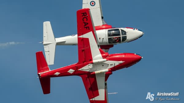 Canadian Snowbirds - Airshow London 2019 - AirshowStuff