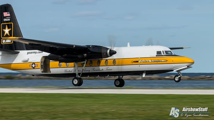 US Army Golden Knights Retire C-31 Jump Plane After 34 Years Of Service; Aircraft Sold To European Collection