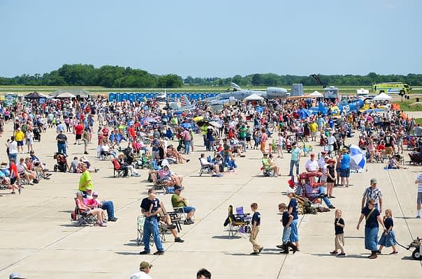Salute To Veterans Airshow Canceled Due To Flooding Concerns