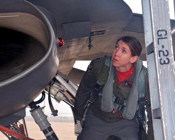 """Capt. Michelle """"Mace"""" Curran"""
