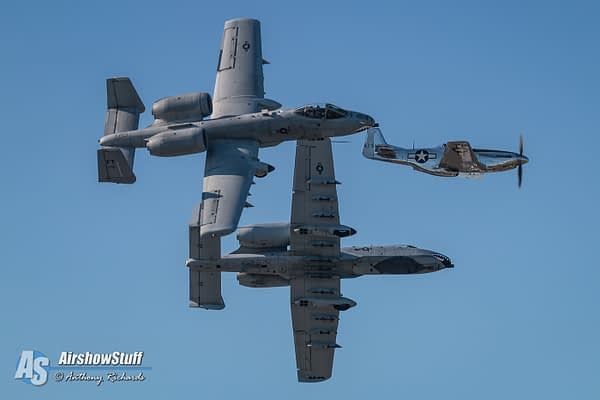 USAF A-10 Thunderbolt II Demonstration Team 2018 Airshow Schedule Released