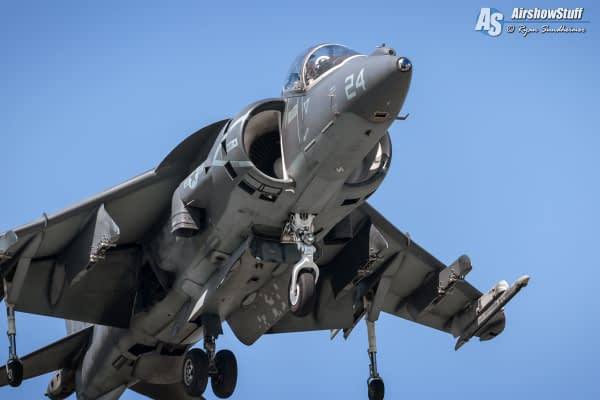 2021 USMC AV-8B Harrier Demonstrations Schedule Released