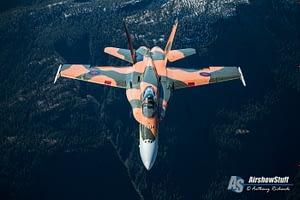 CF-18 Hornet Demonstration Team 2015