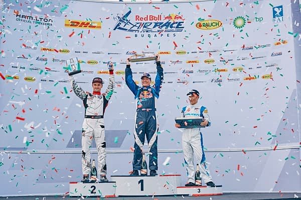 American Kirby Chambliss Wins Budapest Red Bull Air Race