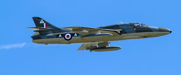 Hawker Hunter T.Mk.7 WV372 - Shoreham Airshow