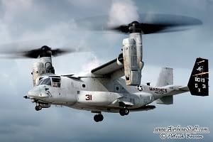USMC MV-22 Osprey - EAA AirVenture Oshkosh 2014