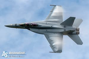 US Navy F/A-18F Super Hornet Demonstration Team - Vectren Dayton Airshow 2015
