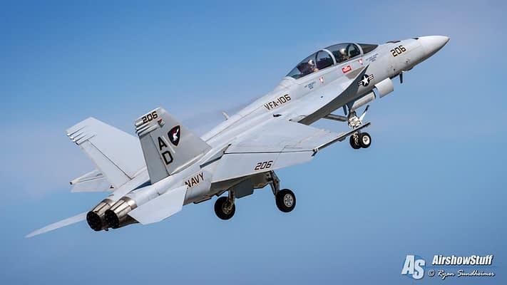 2020 US Navy F/A-18 Super Hornet Demonstration Airshow Schedule Released