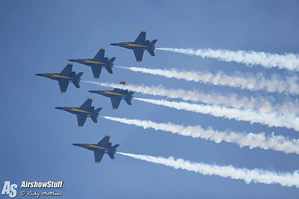 Blue Angels Arrive In El Centro For 2017 Winter Training