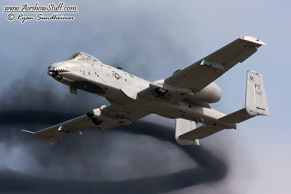 Full A-10 Warthog Demonstrations To Return In 2018?