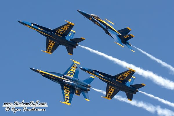 Thunderbirds and Blue Angels Announce Show Cancellations