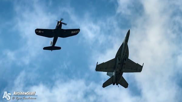 US Navy Legacy Flight - AirshowStuff