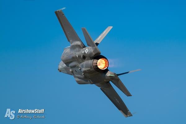 USAF F-35 Lightning II Heritage Flight Team