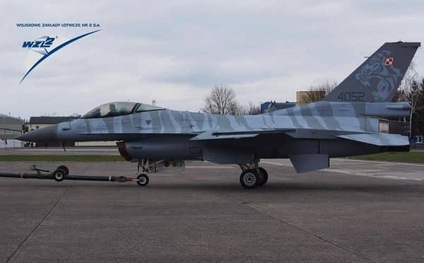 Polish Air Force F-16 Fighting Falcon - Tiger Meet Paint Scheme