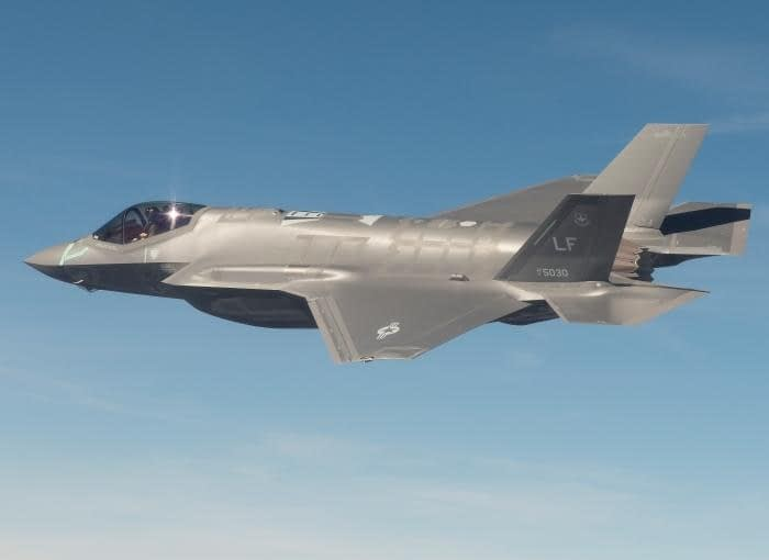 FLYOVER ALERT: F-35 Flyover for Phoenix NASCAR Race