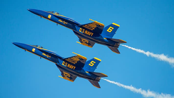 US Navy Blue Angels Preliminary 2022 Airshow Schedule Released