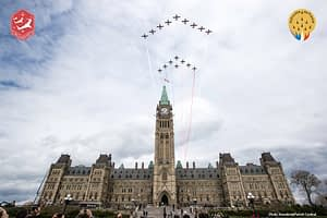Canadian Forces Snowbirds and Patrouille de France