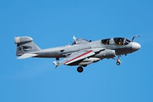 EA-6B Prowler returns during Red Flag 17-2