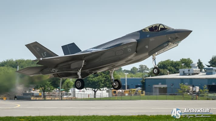 USAF Announces F-35A Lightning II Demonstration Team To Debut In 2019