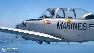 T-34 Mentor Air to Air - Manitowoc, WI