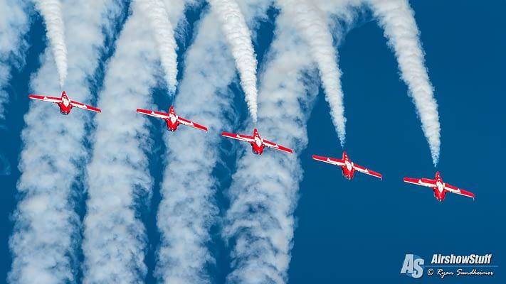 Canadian Forces Snowbirds To Visit Blue Angels, Perform For Pensacola
