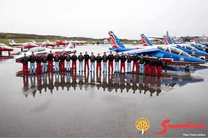 Canadian Forces Snowbirds and Patrouille de France - Aero 150