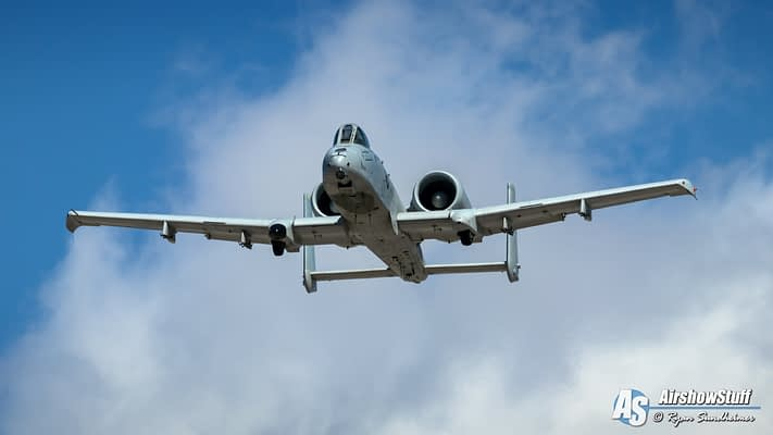 USAF A-10 Thunderbolt II Demonstration Team 2020 Airshow Schedule Released