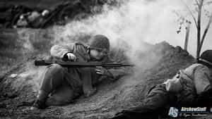 WWII Reenactment - Thunder Over Michigan 2017