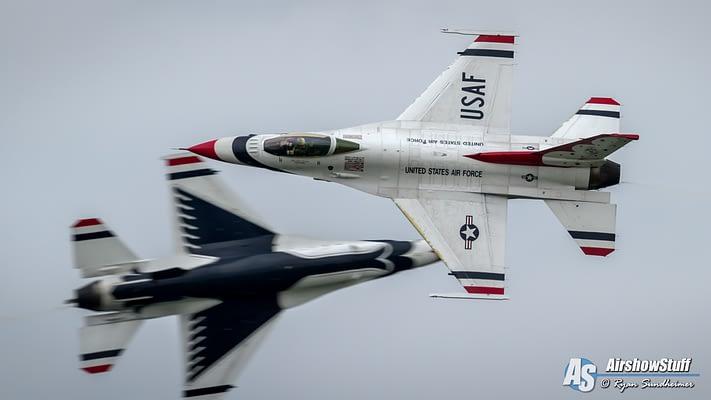 Thunderbirds Add Traverse City To 2019 Airshow Schedule