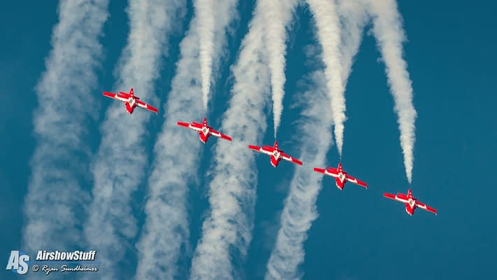 Canadian Forces Snowbirds 2019 Airshow Schedule Released
