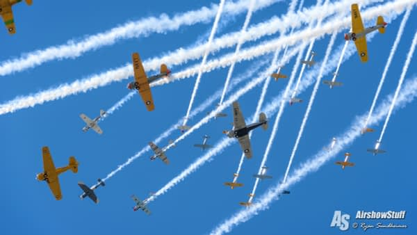 Warbirds at EAA Airventure 2015