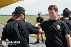 US Army Golden Knights - Vectren Dayton Airshow 2015