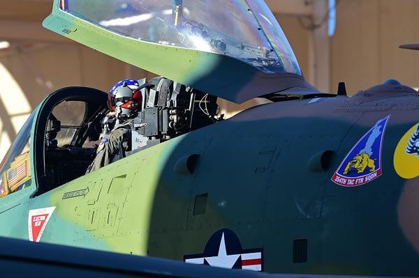 US Air Force A-10 Thunderbolt II Demo Team - Vietnam Camouflage Paint Scheme - AirshowStuff