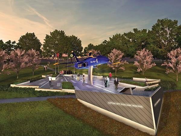 Blue Angels Memorial in Smyrna