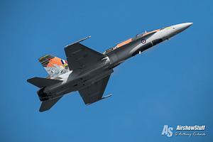 2015 CF-18 Hornet Demonstration Practice - Comox, BC