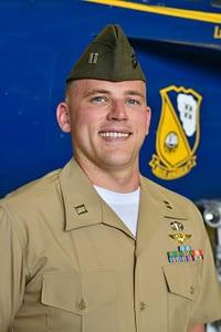 Marine Corps Capt. William Huckeba