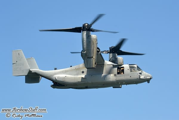 USMC MV-22 Osprey Demo Team