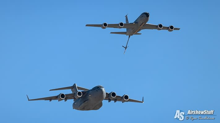 Air Force's C-17/KC-135 Altus Demonstration Team Scraps Plans For 2020 Airshow Performances