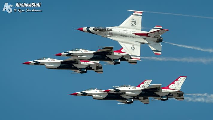 USAF Thunderbirds 2021 Airshow Schedule Released