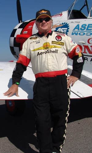 Slot Pilot Gene McNeely Retires From Aeroshell Aerobatic Team