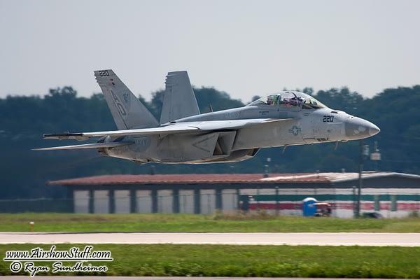 US Navy Hornet Demo Teams Practice For 2016 Season