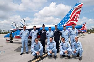 Patrouille de France and Thunderbirds