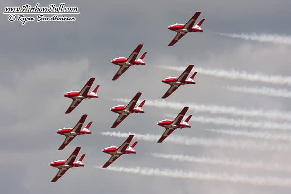 Canadian Forces Snowbirds 2021 Airshow Schedule Released