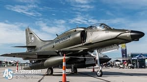 Draken International A-4 Skyhawk - Vectren Dayton Airshow 2015