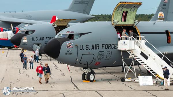 KC-135 Stratotankers - Airshow London 2019 - AirshowStuff