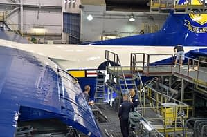 Fat Albert Completes Maintenance at Hill AFB