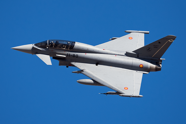 Spanish Eurofighter at Red Flag 17-2